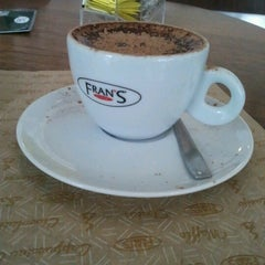 Photo taken at Fran's Café by Karina V. on 9/21/2012