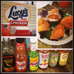 Photo taken at Lucy's Fried Chicken by Jamie H. on 1/27/2013