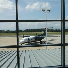 Photo taken at Charlottesville-Albemarle Airport (CHO) by Kellie S. on 9/27/2012
