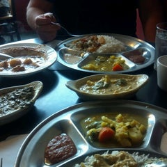 Photo taken at Nepal Restaurant Nepali & Indian Cuisine by Breanna F. on 3/16/2013