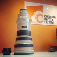 Photo taken at Camera Rental Centre by Nicholas L. on 12/6/2012