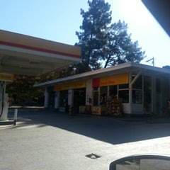 Photo taken at Shell by Beth H. on 10/15/2013