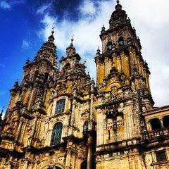 Photo taken at Catedral de Santiago de Compostela by Julio A. on 11/2/2012