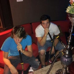 Photo taken at Casablanca Hookah Lounge by Malcolm P. on 9/29/2012