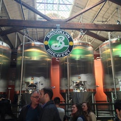 Photo taken at Brooklyn Brewery by Carlo M. on 3/30/2013