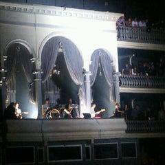 Photo taken at Coliseu dos Recreios by Rui L. on 11/16/2012