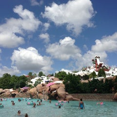Photo taken at Disney's Blizzard Beach Water Park by Sandy on 7/8/2013