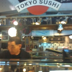 Photo taken at Tokyo Sushi by Joie M. on 12/29/2012