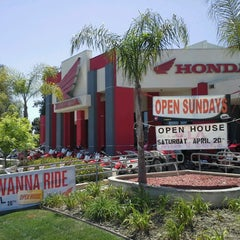 Photo taken at Huntington Beach Honda Motorcycles by Huntington H. on 4/16/2013