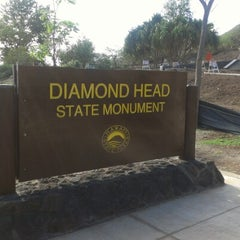 Photo taken at Diamond Head State Monument by Trista P. on 1/10/2013