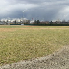 Photo taken at Huskins Field by Ben on 3/29/2013