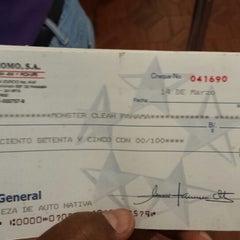Photo taken at Banco General by Bernardo A. on 3/19/2014