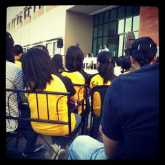 Photo taken at Our Lady of Fatima University by Charmine D. on 1/28/2013