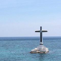 Photo taken at Sunken Cemetery Cross by EdJohn on 7/17/2015