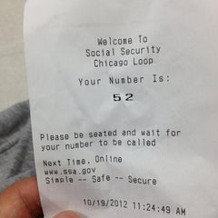 Photo taken at Social Security Office by Keith Z. on 10/19/2012