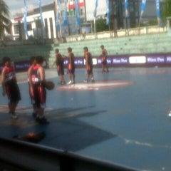 Photo taken at Gelora senapelan basket by lucia m. on 5/6/2013