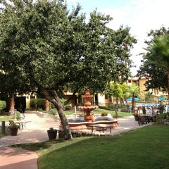 Photo taken at Embassy Suites Palm Desert by Marisa R. on 7/6/2013