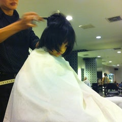 Photo taken at Infinity Hair Salon by Sofya Y. on 3/2/2013