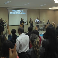Photo taken at Igreja Verbo da Vida by Léo O. on 6/2/2013