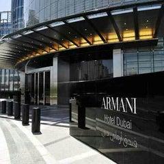 Photo taken at Armani Hotel by Brijendra C. on 12/27/2012