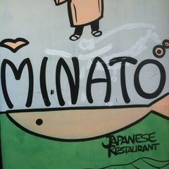 Photo taken at Minato Japanese Restaurant by Michael M. on 12/8/2012