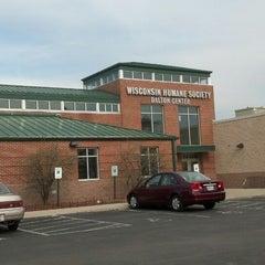 Photo taken at Wisconsin Humane Society by Kpnitrl on 4/30/2013