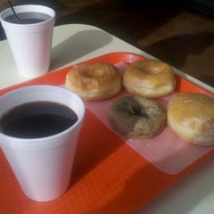 Photo taken at Great American Donut Shop by Mike S. on 10/30/2012