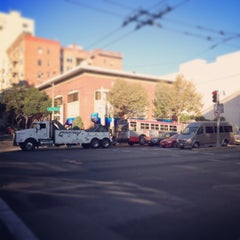 Photo taken at Van Ness Ave by Derrick D. on 10/18/2013