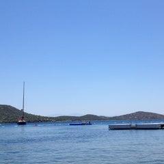 Photo taken at Doria Beach by Sena U. on 6/16/2013