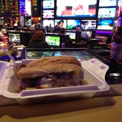 Photo taken at Sports Book @ Peppermill Casino by Christopher B. on 11/16/2014