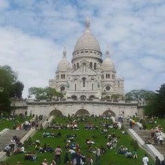 Photo taken at Basilique du Sacré-Cœur de Montmartre by Rui B. on 6/2/2013