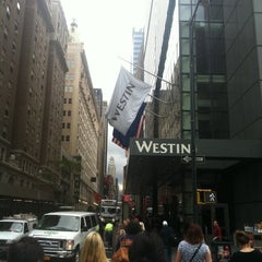 Photo taken at The Westin New York at Times Square by Ronnie D. on 9/29/2012