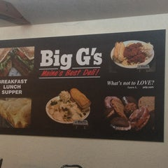 Photo taken at Big G's Deli by Tony on 6/30/2013