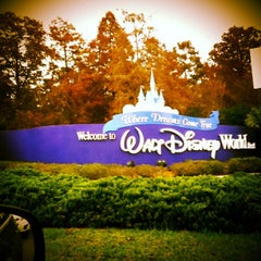Photo taken at Walt Disney World Entrance by Mike M. on 12/13/2012