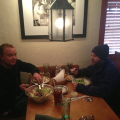 Photo taken at Olive Garden by Walker on 12/23/2012