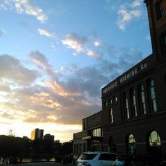 Photo taken at Prairie Street Brewhouse by Cristian L. on 8/14/2015