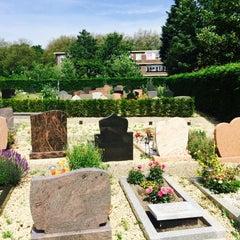 "Photo taken at Begraafplaats ""Oud Eik En Duinen"" by Sakimin K. on 6/25/2015"