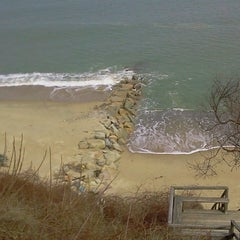Photo taken at Idlewild Beach by Jim M. on 4/2/2014