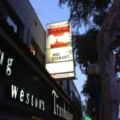 Photo taken at The Troubadour by Arjan on 4/26/2013