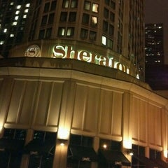 Photo taken at Sheraton Chicago Hotel & Towers by Gail M. on 12/16/2012