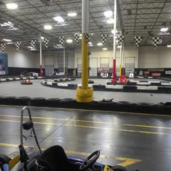 Photo taken at Fast Lap Indoor Kart Racing by Mike and Renee A. on 7/5/2013
