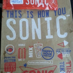 Photo taken at SONIC Drive In by Latika S. on 5/22/2013