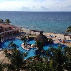 Photo taken at El Cozumeleño Beach Resort by Victor on 11/7/2012