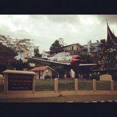 Photo taken at MUSEUM PERJUANGAN TRI DAYA EKA DHARMA by saRas g. on 10/31/2012