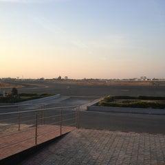 Photo taken at Rajkot Airport (RAJ) by Siddharth P. on 1/6/2013