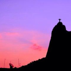 Photo taken at Cristo Redentor by Thiago D. on 4/9/2013