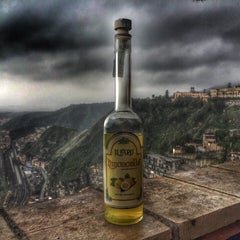 Photo taken at Novara di Sicilia by EVGENIA L. on 3/17/2015