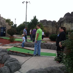 Photo taken at Professor Hackers Lost Treasure Golf by Kelly Y. on 10/13/2013