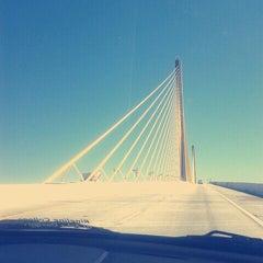 Photo taken at Sunshine Skyway Bridge by Angela O. on 10/20/2012