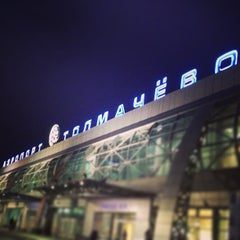 Photo taken at Международный аэропорт Толмачёво / Tolmachevo International Airport (OVB) by Alex L. on 5/11/2013
